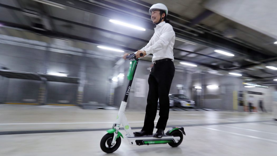Electric scooter purchase
